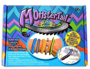 Picture of Monster Tail Rainbow Loom