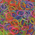 Picture of Elastice Rainbow Loom - Jelly Albastru-navy-600 buc