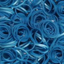Imaginea Elastice Rainbow Loom - Metalic Albastru-300 buc