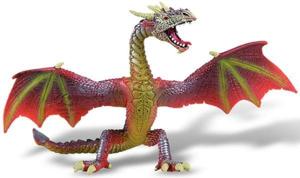 Picture of Dragon rosu