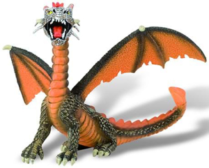 Picture of Dragon orange