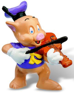 Picture of Little Pigs Violonist