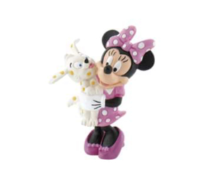 Picture of Minnie with Puppy