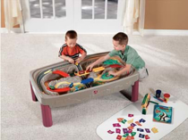 Imaginea Joc  Deluxe Canyon Road Train and Track Table