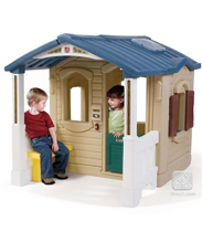 Imaginea Casuta cu pridvor - Naturally Playful Front Porch Playhouse