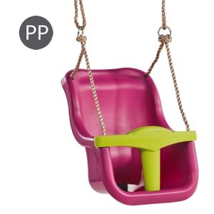 Picture of Leagan Baby Seat LUXE Culoare: purple (RAL4006)/lime green, franghie: PP 10
