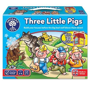 Picture of Joc de societate Cei trei purcelusi THREE LITTLE PIGS