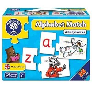 Picture of Joc educativ - puzzle in limba engleza Invata alfabetul prin asociere ALPHABET MATCH