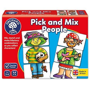 Picture of Joc educativ Asociaza personajele PICK AND MIX PEOPLE