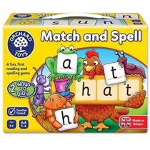 Imaginea Joc educativ in limba engleza Potriveste si formeaza cuvinte  MATCH AND SPELL