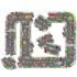Picture of Puzzle gigant de podea traseu masini (20 piese) GIANT ROAD JIGSAW