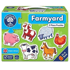 Picture of Set 6 puzzle Ferma (2 piese) FARMYARD