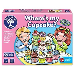 Picture of Joc educativ in limba engleza Briosa WHERE'S MY CUPCAKE?