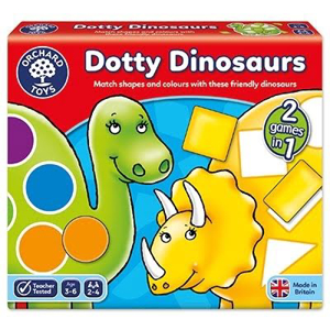 Picture of Joc educativ Dinozaurii cu pete DOTTY DINOSAURS