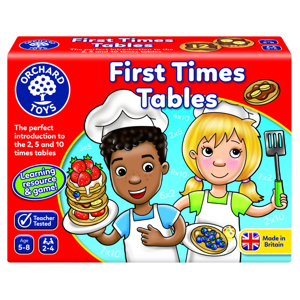 Picture of Joc educativ Tabla inmultirii pentru incepatori FIRST TIMES TABLES