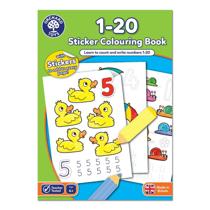 Imaginea Carte de colorat cu activitati in limba engleza si abtibilduri 1 - 20