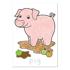 Picture of Carte de colorat cu activitati in limba engleza si abtibilduri Ferma FARMYARD
