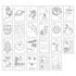 Picture of Carte de colorat cu activitati in limba engleza si abtibilduri In Spatiu OUTER SPACE