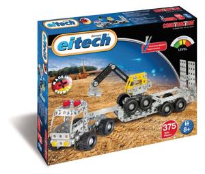 Picture of Camion cu remorca si excavator