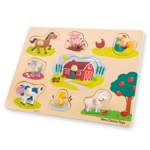 Picture of Puzzle lemn Ferma 9 piese NEW