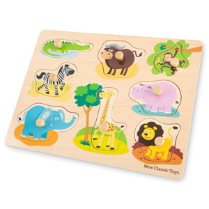 Picture of Puzzle lemn Safari 9 piese NEW