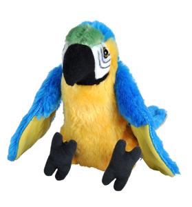Picture of Papagal Macaw Albastru - Jucarie Plus Wild Republic 20 cm